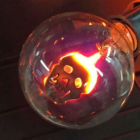 inliten llc lights upc 883624362552 10 light clear flicker bulbs with skull