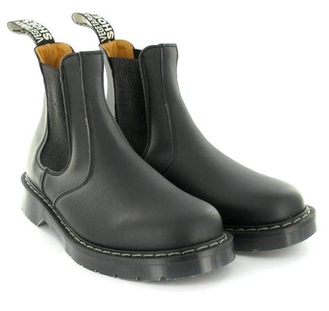 chelsea shoes chelsea boot in black from vegetarian shoes mooshoes