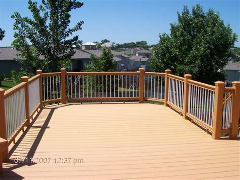 lowes decking composite pressure treated deck lowes