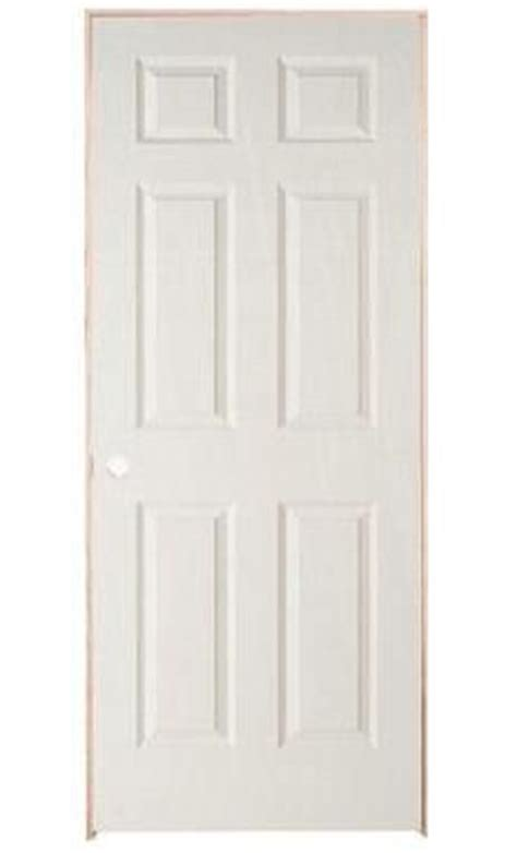 Home Depot Pre Hung Interior Doors by Masonite 6 Panel Textured Pre Hung Door 32in X 80in Rh