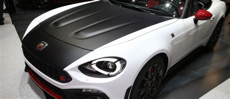 2017 abarth 124 spider boosted turbo shouty exhaust and