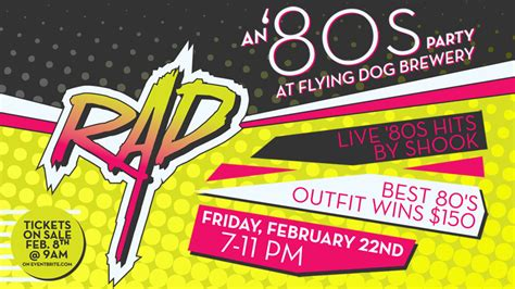 do you even 80 s a totally rad 80 s book of coloring and books tickets on sale friday for rad 80s at the brewery