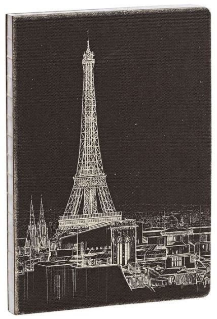 barnes and noble sketchbook deconstructed eiffel tower sketchbook 7 quot x 10 quot by studio