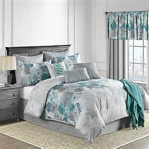 10 comforter set in teal bed bath beyond