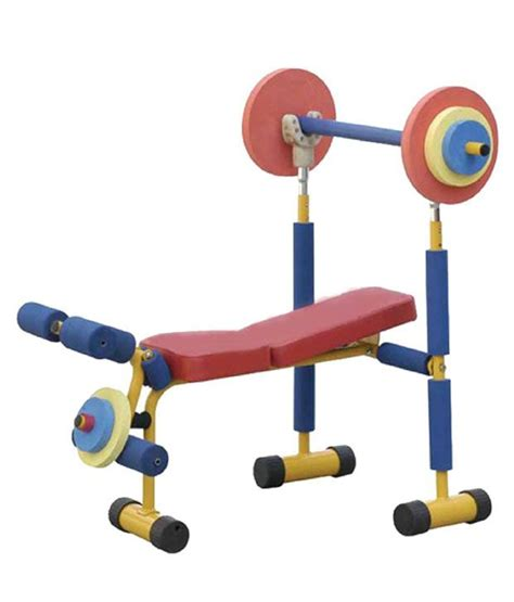 fun and fitness weight bench for kids aquafit kids weight bench buy online at best price on