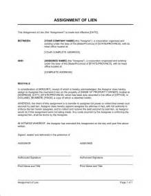 lein template assignment of lien template sle form biztree
