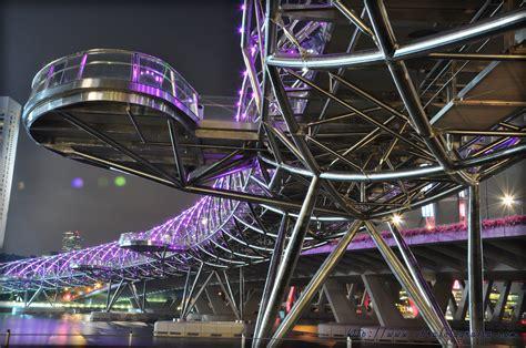 helix bridge high tech architecture helix bridge in singapore by cox architecture architects 61