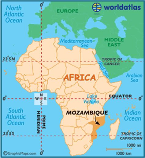 africa map mozambique mozambique map geography of mozambique map of