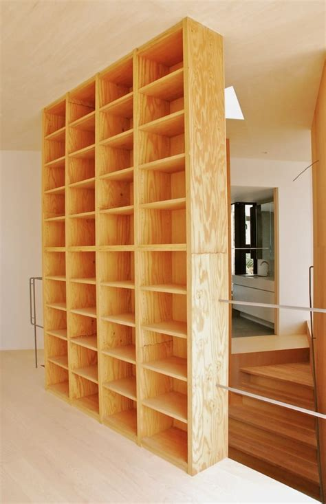 building wall bookshelves 25 best ideas about plywood bookcase on