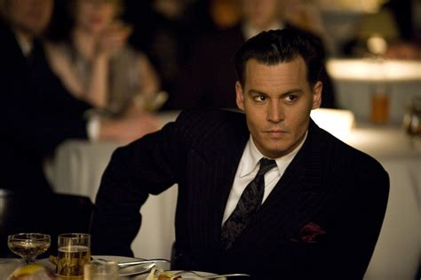 film gangster johnny depp public enemies