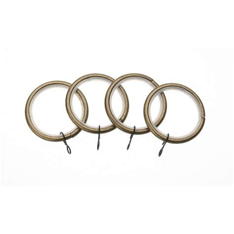 brass curtain rings swish avensys 19mm antique brass metal curtain rings 4