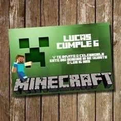 Imagenes Originales De Minecraft | m 225 s de 1000 ideas sobre invitaciones de minecraft en