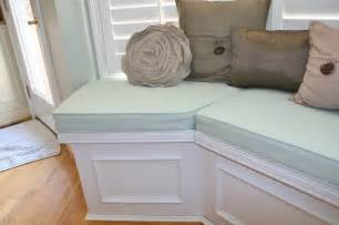 Dining Room Bench Seating With Storage Huntington Built In Bench Seat With Lids For Storage
