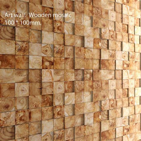 mosaic wood panel 3d 2 cgtrader mosaic wood panel 3d 4 cgtrader