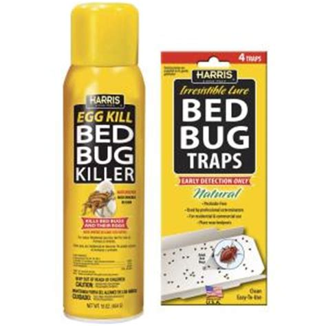 home depot bed bug traps harris 16 oz egg kill and bed bug trap value pack egg