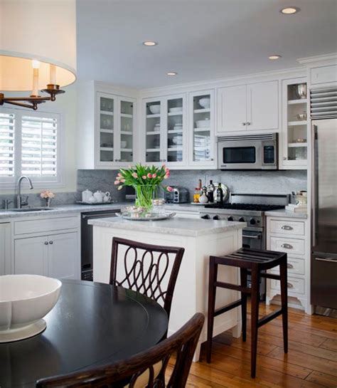 small kitchen design ideas 24 tiny island ideas for the smart modern kitchen