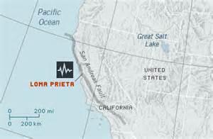 earthquakes loma prieta forces of nature science maps
