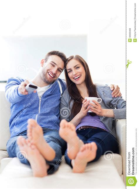 couple on couch couple on sofa royalty free stock photos image 30630468