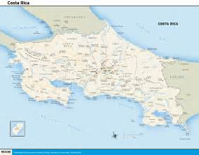 detailed road map of costa rica printable travel maps of costa rica moon travel guides