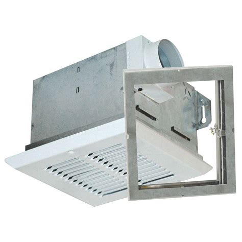 fire rated exhaust fan enclosures air king advantage fire rated 50 cfm ceiling bathroom
