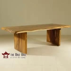 Meja Makan Kayu Jati Utuh meja makan minimalis kayu utuh mmj001 toko furniture jati minimalis mebel jati jepara