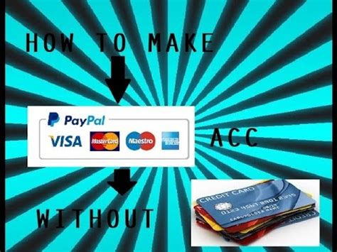 how to make paypal without credit card how to make paypal payza acc without credit card