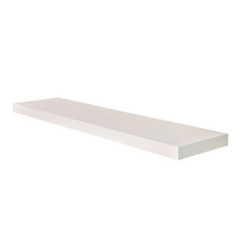 Floating Shelf 60 Inch by Welland Chicago Floating Wall Shelves 60 Inches White