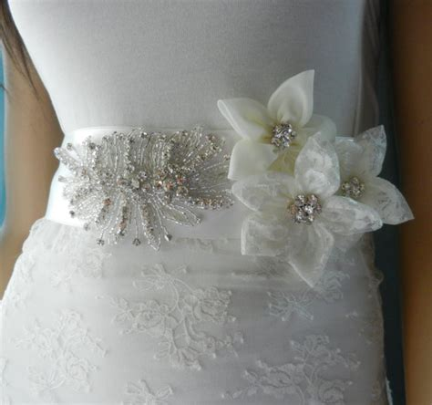 sash bridal belt wedding dress sashes belts wedding
