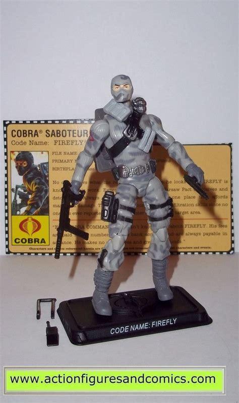 Hasbro Gi Joe Gijoe Cobra Paratrooper gi joe firefly 2007 v14 25th anniversary cobra figures hasbro toys gi joe toys and