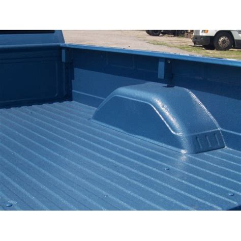 bed liner spray paint colored bedliner