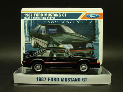Greenlight Country Roads 2011 Ford Mustang Gt diecast hobbist 1987 ford mustang gt
