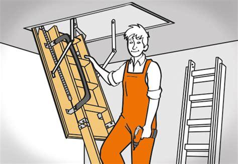 Pertura Treppen Konfigurator by Bodentreppe Einbauen In 6 Einfachen Schritten Mit Obi