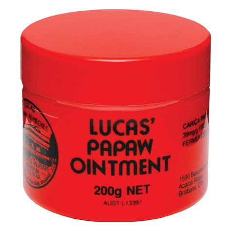 Lucas Papaw Ointment 25gr Original buy lucas papaw ointment 200g at chemist warehouse 174