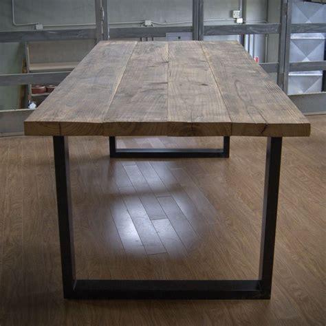 tavolo castagno west tavolo vintage con assi di legno massello di