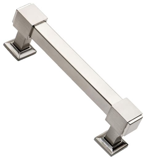 4 25 Inch Drawer Pulls by Southern Satin Nickel Cabinet Pulls 4 3 4 Inch