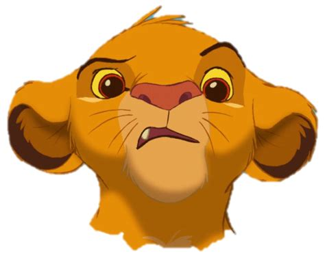 image simba kiara png the image confused simba png the king wiki fandom powered by wikia