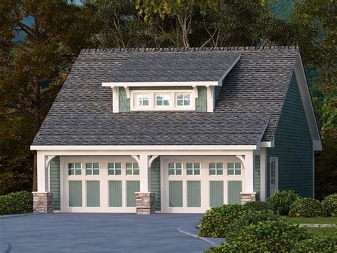 Craftsman House Plans With Detached Garage by Detached Garage Craftsman Bungalow Craftsman Style