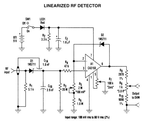 diode detector circuit electronic schematics circuits electronic get free image about wiring diagram