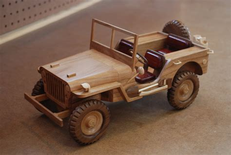 Wooden Jeep Wwii Jeep By Woodscrap 11 20 2012 View Details