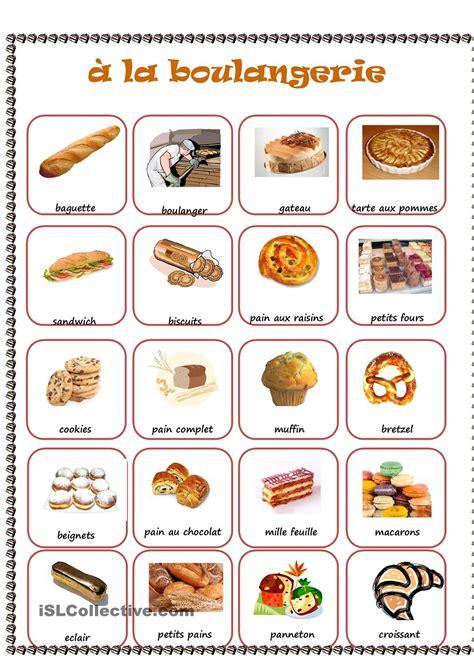 cuisiner le fl騁an boulangerie boulangerie fle et vocabulaire