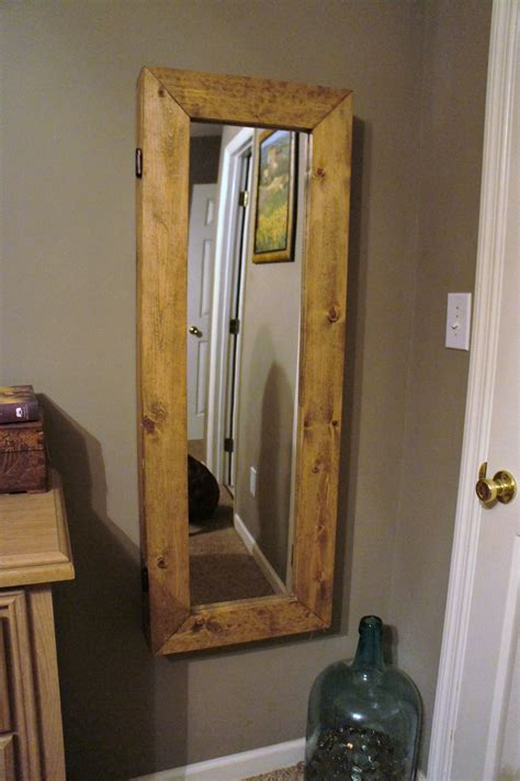 Jewelry Armoire Diy by White Mirror Jewelry Armoire Diy Projects