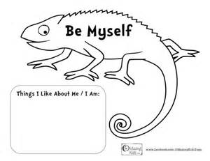 mixed up chameleon template a color of his own the mixed up chameleon lesson plan