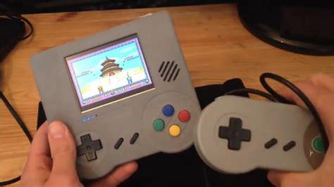 handheld console emulator raspi boy retro handheld emulation console electronic