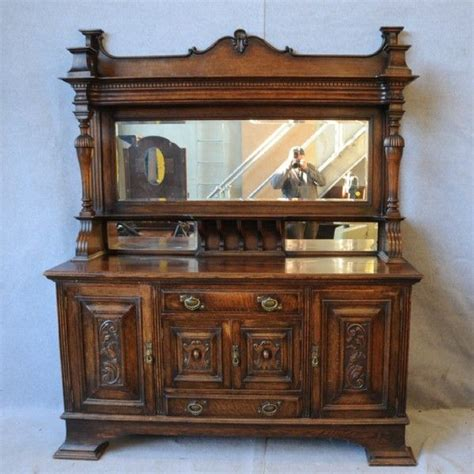 Antique Sideboard With Mirror Tv Sideboard Pinterest Antique Buffet Mirror