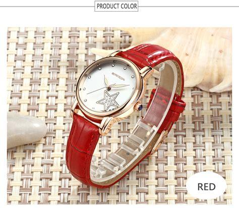 Weiqin Jam Tangan Kulit Wanita Wei75 sanda jam tangan analog wanita sd p200 black jakartanotebook