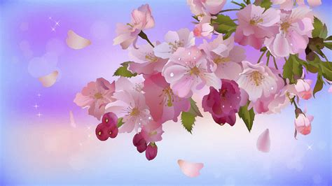 imagenes wallpapers flores una pintura de flores hd 1920x1080 imagenes wallpapers
