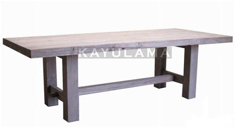 arc l dining table recycled teak furniture arche dining table kayu lama