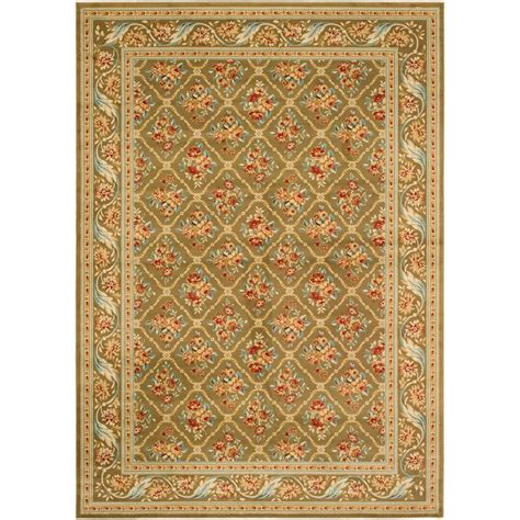 8 x 12 rug home depot safavieh lyndhurst green 8 ft 9 in x 12 ft area rug lnh556 5252 9 the home depot