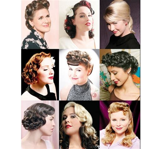 Vintage Hairstyles Book by Vintage Hairstyling Book Retro Rockabilly Pin Up Hair