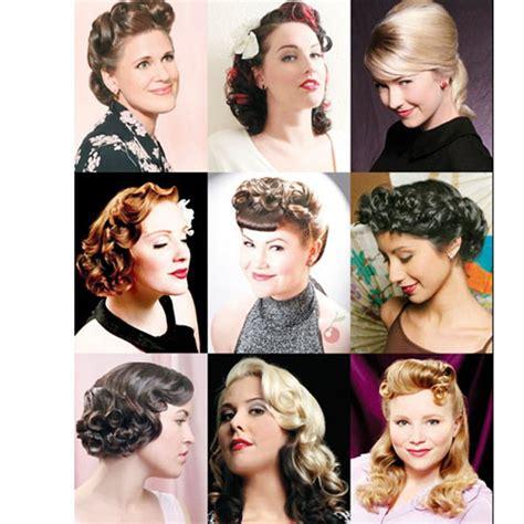 Vintage Hairstyling by Vintage Hairstyling Book Retro Rockabilly Pin Up Hair